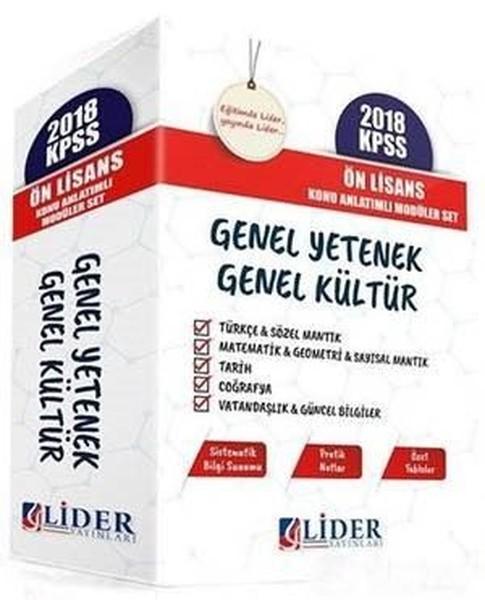 2018 KPSS Ön Lisans Genel Yetenek Genel Kültür Konu Anlatımlı Modüler Set.pdf