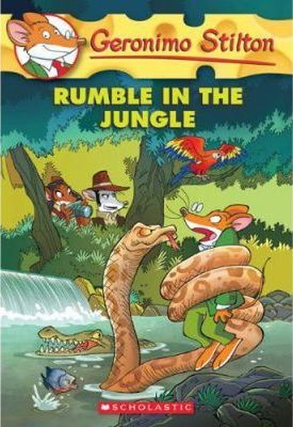 Geronimo Stilton #53: Rumble in the Jungle.pdf