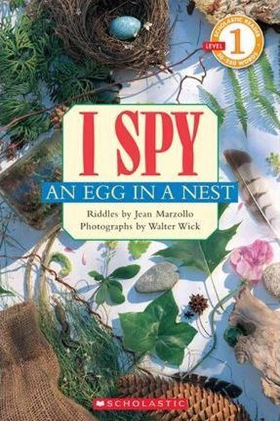 Scholastic Reader Level 1: I Spy an Egg in a Nest.pdf