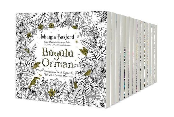 Boyama Kitapları Seti 13 Kitap Takım Kitap Müzik Dvd çok