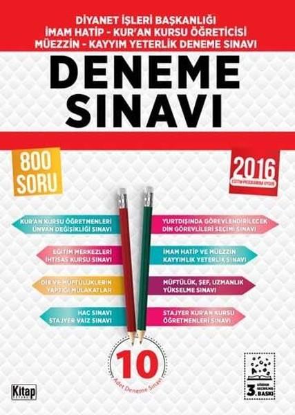 2016 Diyanet İşleri Başkanlığı Yeterlik ve MBSTS Deneme Sınavı.pdf