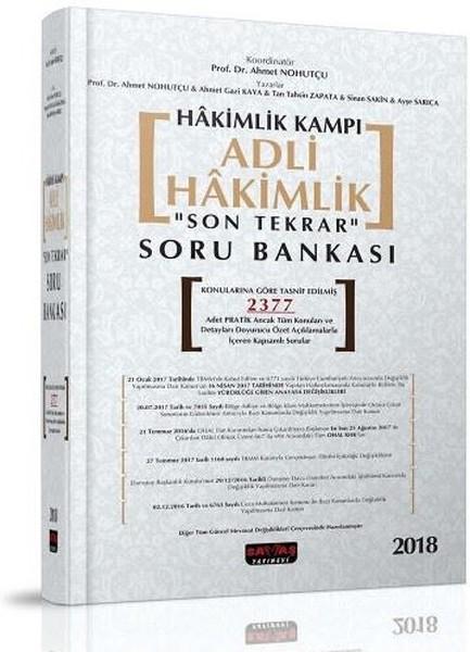 Hakimlik Kampı Adli Hakimlik Son Tekrar Soru Bankası.pdf