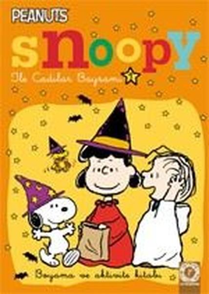 Snoopy ile Cadılar Bayramı 1-Boyama ve Aktivite Kitabı.pdf