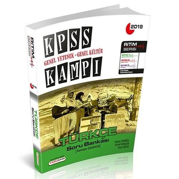 2018 Kpss Kampı Gy Gk Türkçe Soru Bankası Haydar Demirel Fiyatı