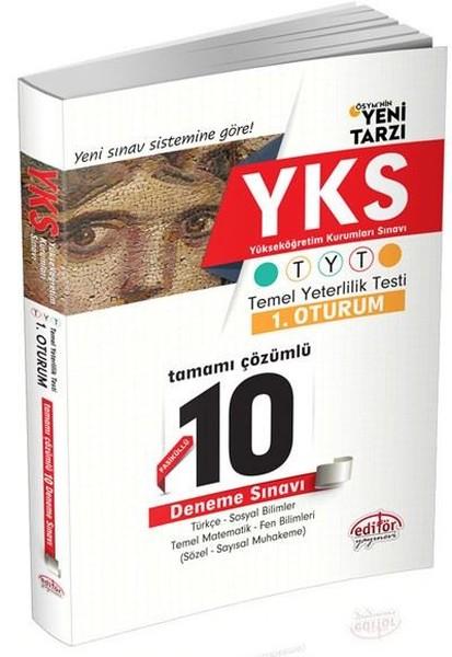 YKS TYT 1.Oturum Tamamı Çözümlü 10 Deneme Sınavı.pdf
