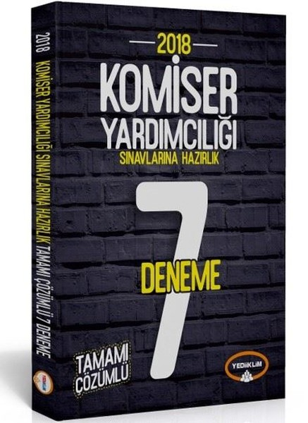 2018 Komiser Yardımcılığı Sınavlarına Hazırlık Tamamı Çözümlü 7 Deneme.pdf