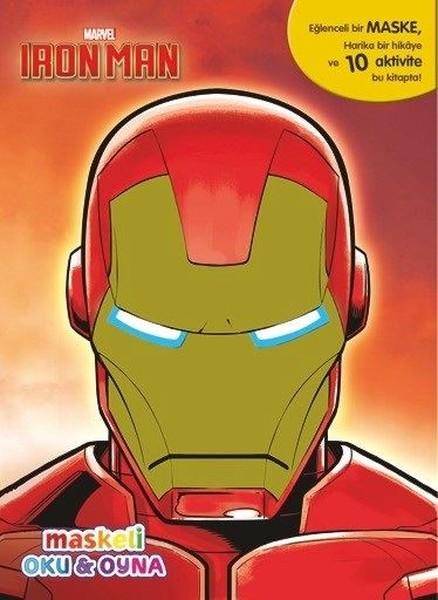 Marvel Iron Man Maskeli Oku Ve Boya Kitap Müzik Dvd çok Satan