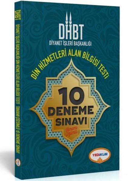 DHBT Diyanet İşleri Başkanlığı Din Hizmetleri Alan Bilgisi Testi 10 Deneme Sınavı.pdf