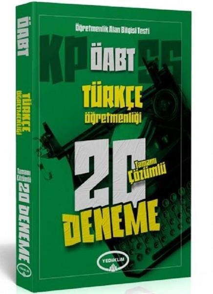 ÖABT Türkçe Öğretmenliği Tamamı Çözümlü 20 Deneme.pdf