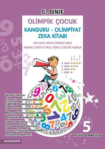 5.Sınıf Olimpik Çocuk Kanguru-Olimpiyat Zeka Kitabı Tamamı Çözümlü.pdf