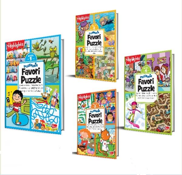Highlights Puzzlemania Favori Puzzle 4lü Set.pdf