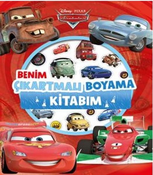 Disney Arabalar Benim Çıkartmalı Boyama Kitabım.pdf