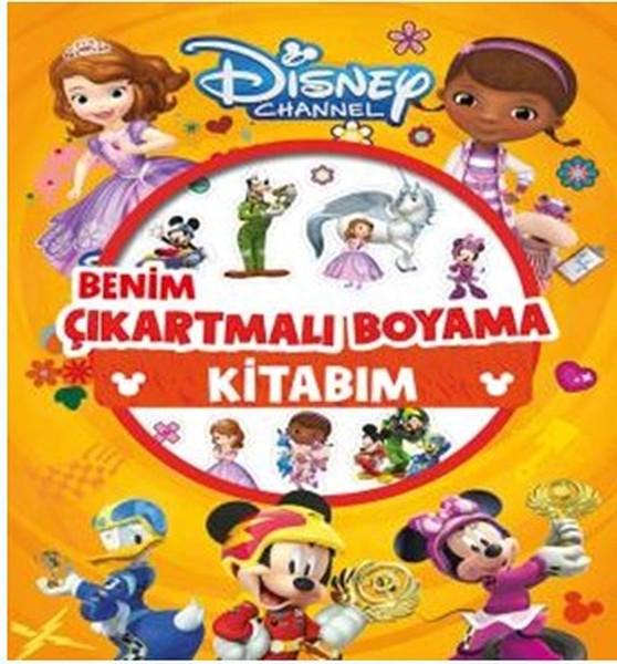 Disney Channel Benim Çıkartmalı Boyama Kitabım.pdf