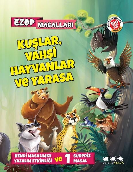 Ezop Masalları-Kuşlar, Vahşi Hayvanlar ve Yarasa.pdf