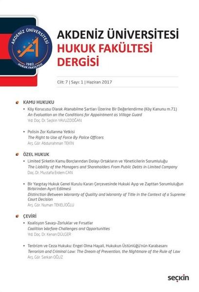 Akdeniz Üniv.Hukuk Fak.Dergisi Cilt:7  Sayı:1.pdf
