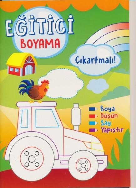 Egitici Boyama Cikartmali Yesil Kolektif Fiyati Satin Al
