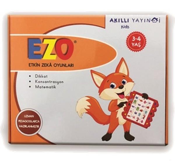 EZO-Etkin Zeka Oyunları Dikkat-Konsantrasyon-Matematik 3-4 Yaş.pdf