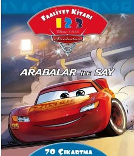 Disney Arabalar 3-Arabalar ile Say Faaliyet Kitabı.pdf