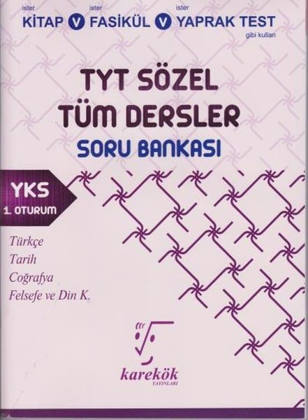 TYT Sözel Tüm Dersler Soru Bankası.pdf