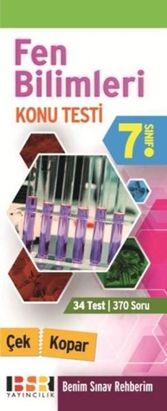 7. Sınıf Fen Bilimleri Çek Kopar Konu Testi.pdf