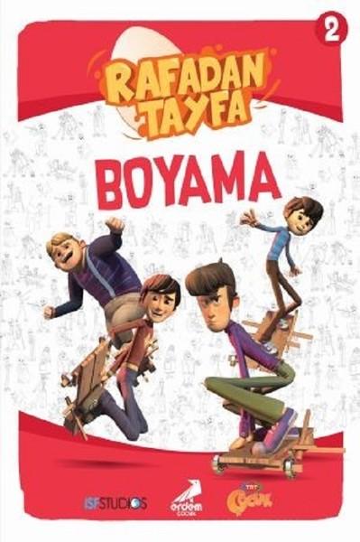 Rafadan Tayfa Boyama 2 Kitap Müzik Dvd çok Satan Kitaplar
