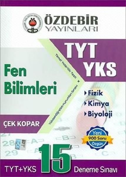 TYT-YKS Fen Bilimleri 15 Deneme Sınavı Çek Kopar.pdf