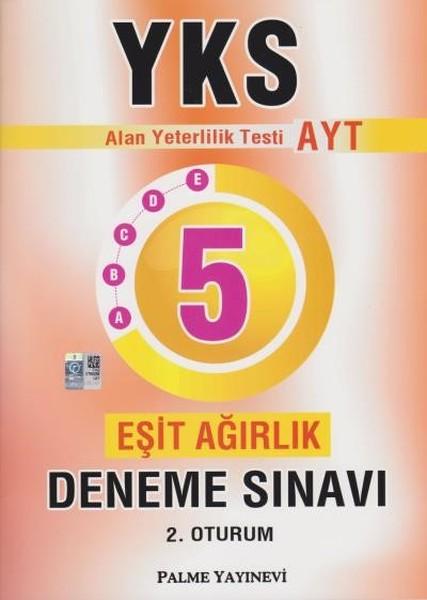 YKS AYT Eşit Ağırlık 5 Deneme Sınavı.pdf