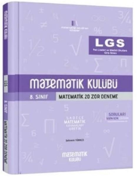 LGS 8. Sınıf Matematik 20 Zor Deneme.pdf