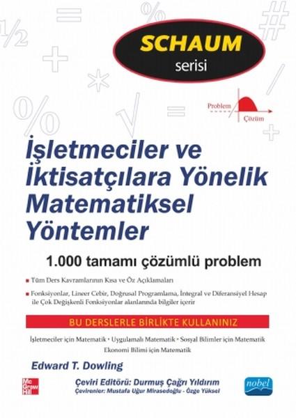 İşletmeciler ve İktisatçılara Yönelik Matematiksel Yöntemler.pdf