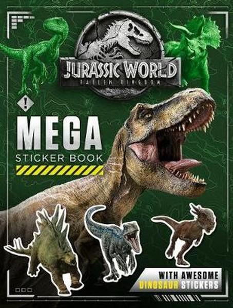 Jurassic World Fallen Kingdom Mega Sticker Book.pdf