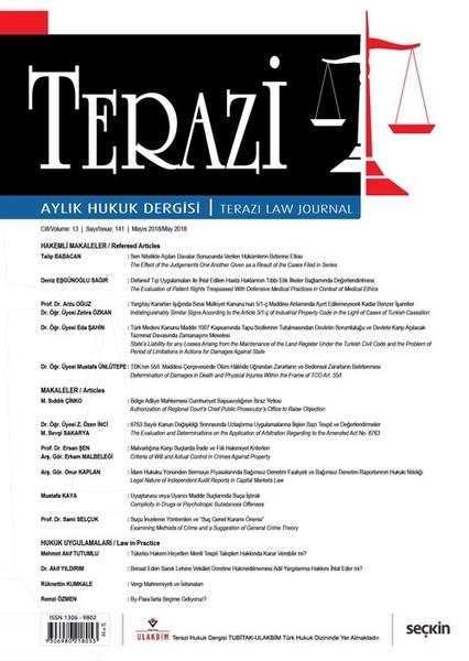 Terazi Aylık Hukuk Dergisi Sayı:141 Mayıs 2018.pdf
