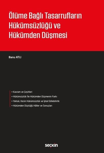 Ölüme Bağlı Tasarrufların Hükümsüzlüğü ve Hükümden Düşmesi.pdf