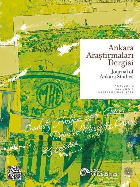 Ankara Araştırmaları Dergisi Cilt 6 Sayı1.pdf