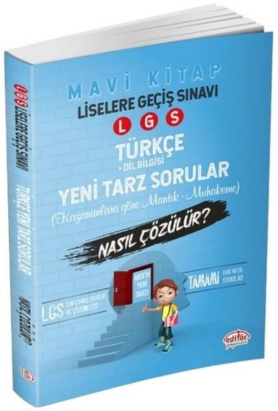 LGS Türkçe Mantık Muhakeme Soruları Nasıl Çözülür?-Mavi Kitap.pdf