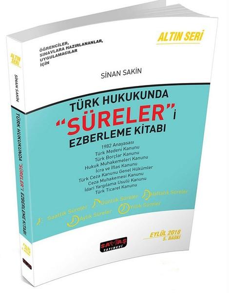 Türk Hukukunda Süreleri Ezberleme Kitabı.pdf
