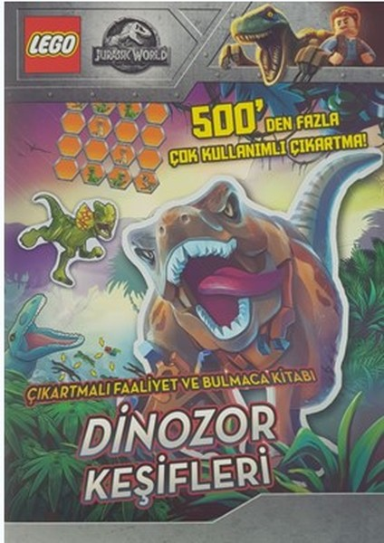 Lego Jurassic World-Dinozor Keşifleri-Çıkartmalı Faaliyet ve Bulmaca Kitabı.pdf