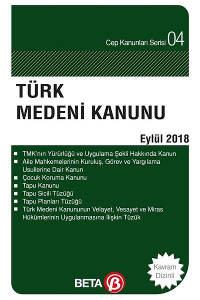 Türk Medeni Kanunu-Eylül 2018.pdf