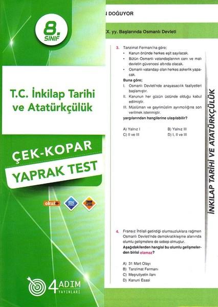 8. Sınıf T.C. İnkılap Tarihi ve Atatürkçülük Çek-Kopar Yaprak Test.pdf