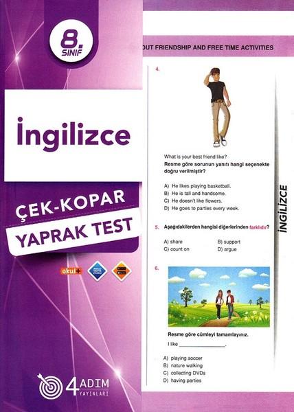 8. Sınıf İngilizce Çek-Kopar Yaprak Test.pdf