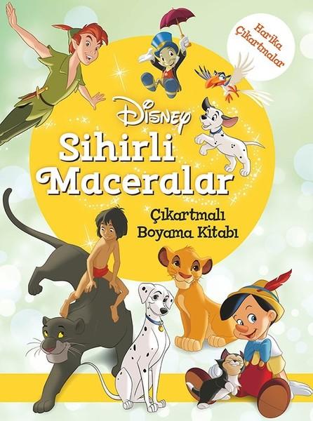 Disney Sihirli Maceralar Çıkartmalı Boyama Kitabı.pdf