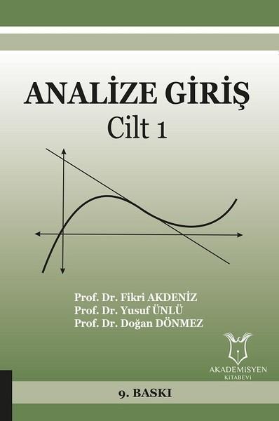 Analize Giriş Cilt 1.pdf