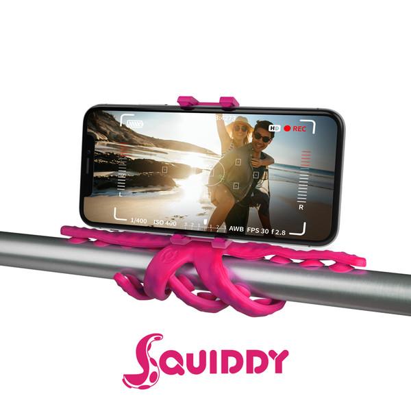 Celly Squiddy Esnek Mini Tripod Pembe Squıddygr