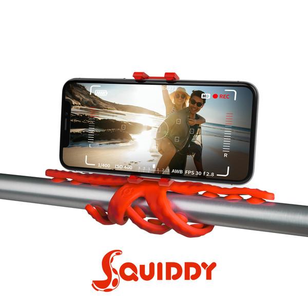 Celly Squiddy Esnek Mini Tripod Kırmızı Squıddygr