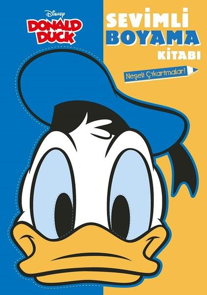 Disney Donald Duck Sevimli Boyama Kitabı Kitap Müzik Dvd çok