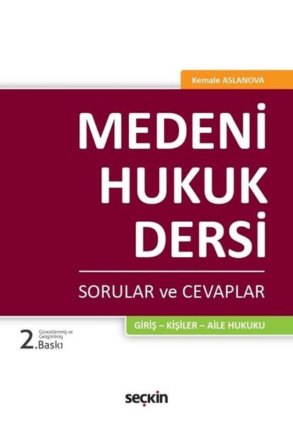 Medeni Hukuk Dersi-Sorular ve Cevaplar.pdf