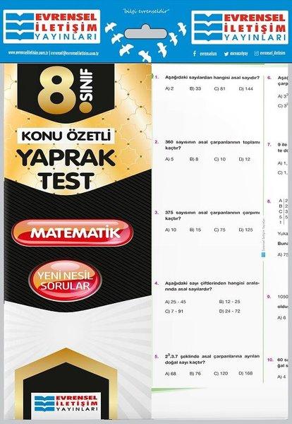 8.Sınıf Matematik Konu Özetli Yaprak Test.pdf
