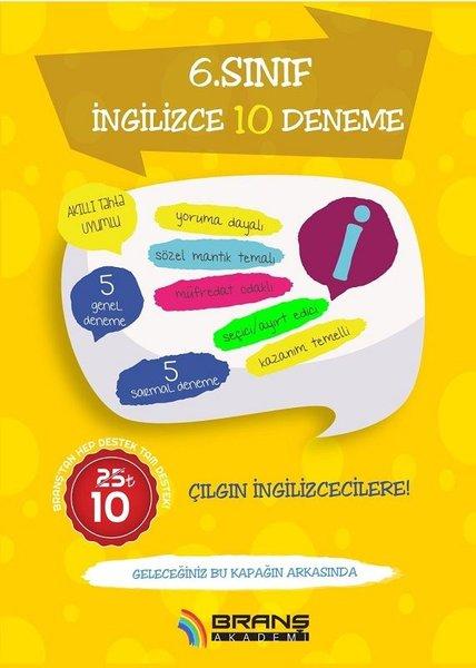 2019 6.Sınıf İngilizce-10 Deneme.pdf