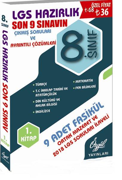 8.Sınıf LGS Hazırlık 1.Kitap-Son 9 Sınavın Çıkmış Soruları ve Ayrıntılı Çözümleri.pdf
