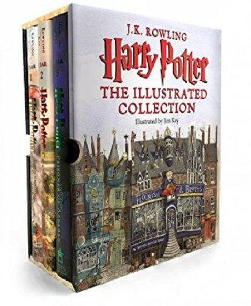 Harry Potter: The Illustrated Collection (Books 1-3 Boxed Set).pdf