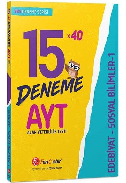 AYT Edebiyat-Sosyal Bilimler 1 15x40 Deneme.pdf